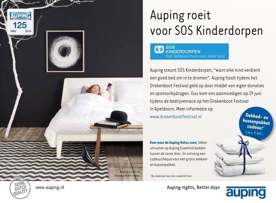 Auping_SOS_kinderdorpen_advertentie_Stentor