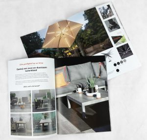 POS materiaal brochure folder magazine